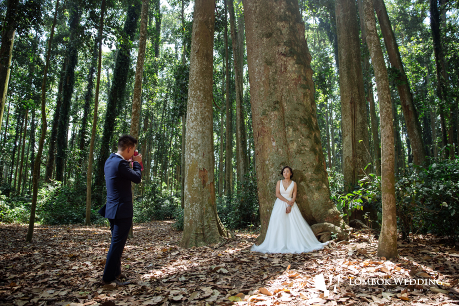 Franky and Shan Shan Bali Prewedding Photos