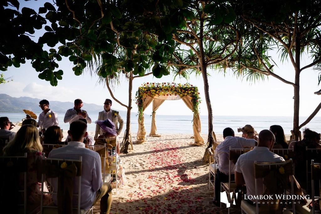 Villa Sepoi Sepoi Lombok Wedding Photographer 016