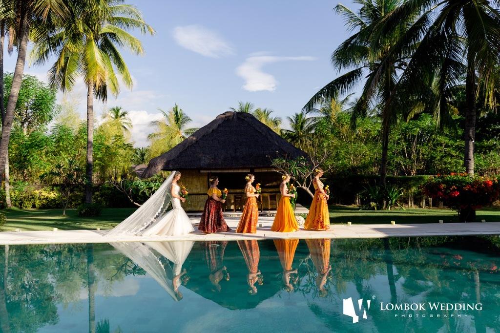 Villa Sepoi Sepoi Lombok Wedding Photographer 022