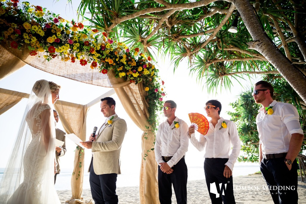 Villa Sepoi Sepoi Lombok Wedding Photographer 032