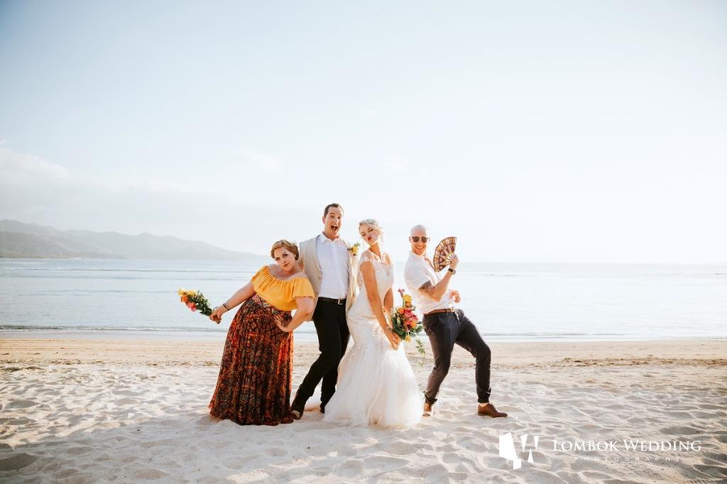 Villa Sepoi Sepoi Lombok Wedding Photographer 045
